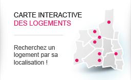 Carte interactive des logements - Recherchez un logement par sa localisation !